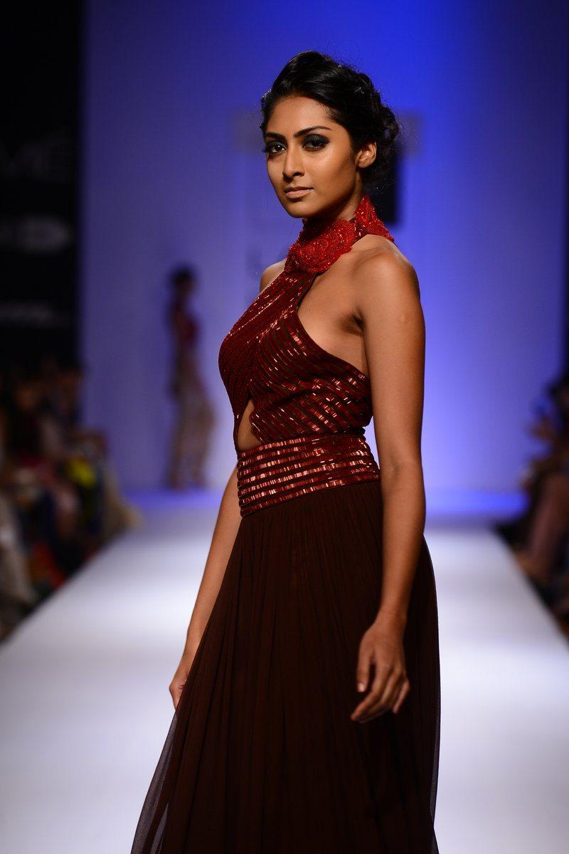 Malaika Arora Khan showcases a creation by designer