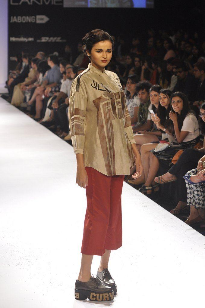 Earthy Tones  Utsav Fashion