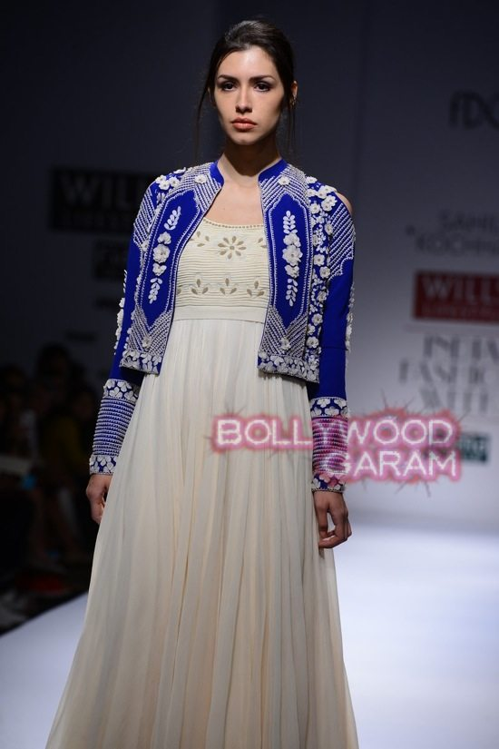Fashion Show 2015 Indian Sahil Kochhar WLIFW