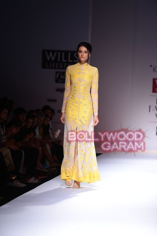 Ahmedabad Fashion Wills Lifestyle India Fashion Week 2015 Photos Sahil Kochhar Displays