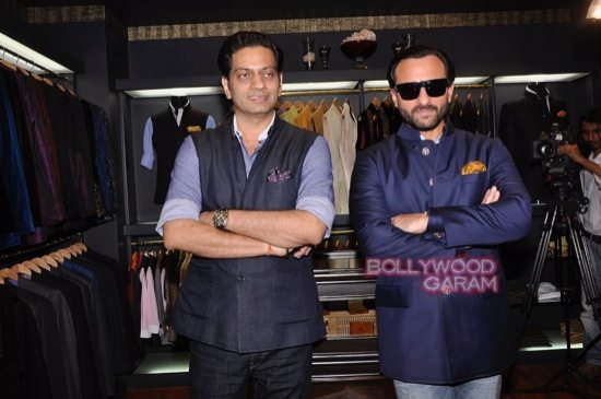 Saif Ali Khan launches mens jewellery store-3