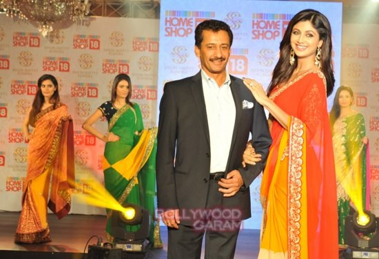 Shilpa launches Shilpa SHetty Kundra line of saris-1