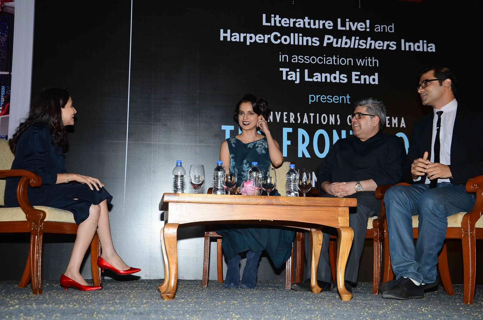 Kangana Ranaut launches Anupama Chopra's book The Front Row
