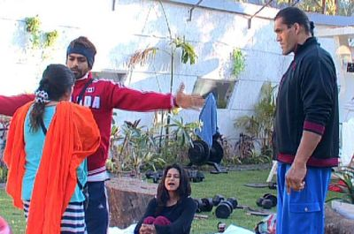 Khali and Dolly Bindra
