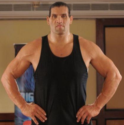 Khali-in-Bigg-Boss-4 loses his temper