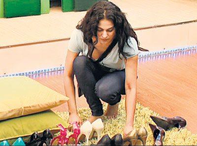 Veena Mailk shoes