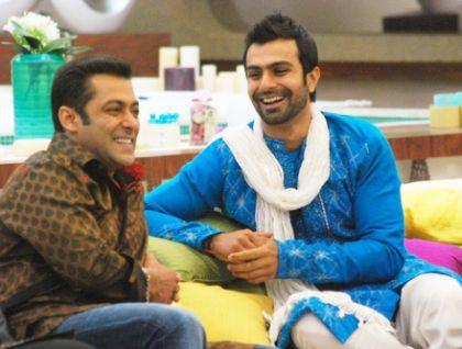 Ashmit Patel and Salman Khan