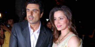 Samir Soni and Neelam Kothari have a private wedding ceremony