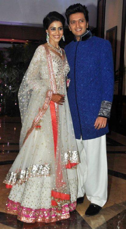 Genelia D'Souza - Riteish Deshmukh Sangeet Ceremony ...