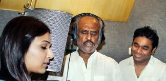 Rajinikanth Sings in Hindi with A R Rahman