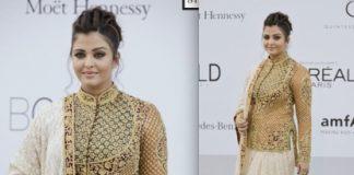 Aishwarya Rai stuns at 2012 Cannes Film Festival in traditional attire