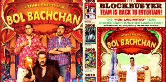 Bol Bachchan first look unveiled by Abhishek Bachchan
