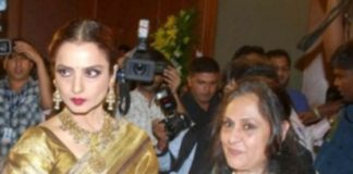 Rekha and Jaya Bachchan to face each other in Parliament
