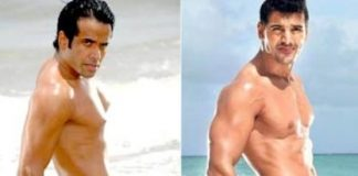 Tusshar Kapoor's derriere-showing picture receives criticism