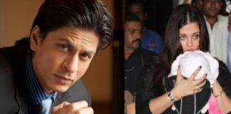 Shahrukh Khan drops in Jalsa to meet Aaradhya