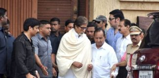 Thief tries to break in to Amitabh Bachchan's house