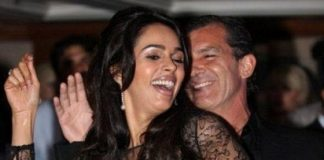 Is Mallika Sherawat responsible for disturbance between Antonio Banderas and his wife?