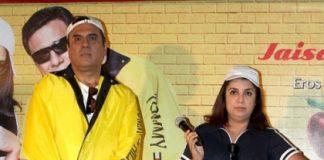 Boman Irani confesses discomfort while romancing Farah Khan