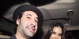 Sunny Leone lands in India with husband Daniel Weber to promote 'Jism 2'