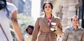 Sridevi and Mehdi Nebbou first look of Hinglish Vinglish revealed