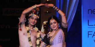 Lakme Fashion Week – Hema Malini steals show as Radha