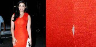 Parineeti Chopra escapes wardrobe malfunction
