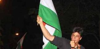 Shahrukh Khan alleged of insulting national flag