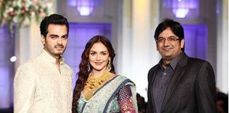 Esha Deol and Bharat Takhtani sizzle on ramp, photos