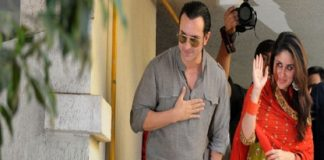 Saif and Kareena wedding reception in Delhi today