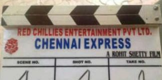 Shahrukh Khan and Deepika Padukone official cast of 'Chennai Express'