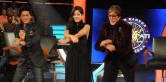 Shahrukh Khan and Katrina Kaif on KBC to promote Jab Tak Hai Jaan