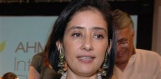 Manisha Koirala admitted to hospital with cancer?