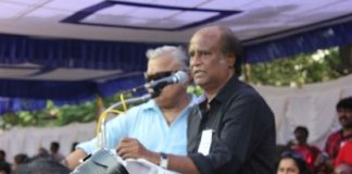 Rajinikanth joins hunger strike