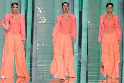 Kareena Kapoor Lakme Fashion week 2013