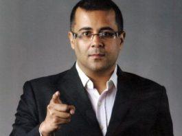 Chetan Bhagat turns screenplay writer  for Kick