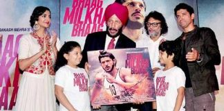 Milkha Singh launches music for 'Bhaag Milkha Bhaag' movie