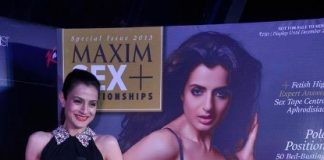 Ameesha Patel becomes the new Maxim cover girl