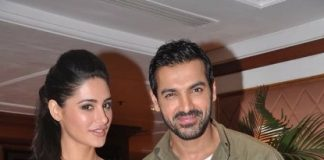 John Abraham and Nargis Fakhri promote Madras Cafe