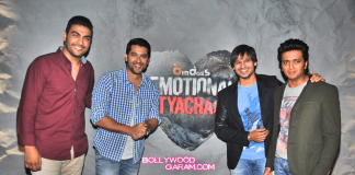 Grand Masti promotions at Emotional Atyachar sets – Photos