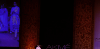 Nargis Fakhri walks the ramp for Ritu Kumar at Lakme Fashion Week 2013 – Photos