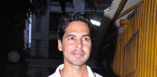 Spotted – Dino Morea at the premier of Shaina NC's Once Upon a Time in Mumbaai Dobaara