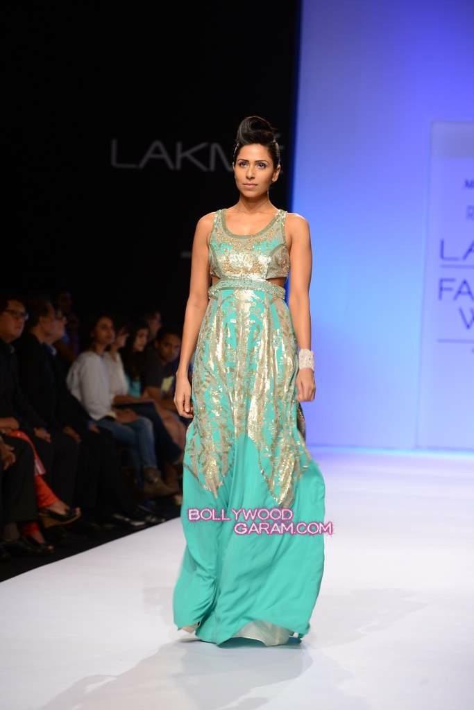 Rana Gill LFW 2013-4