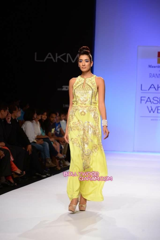 Rana Gill LFW 2013-5
