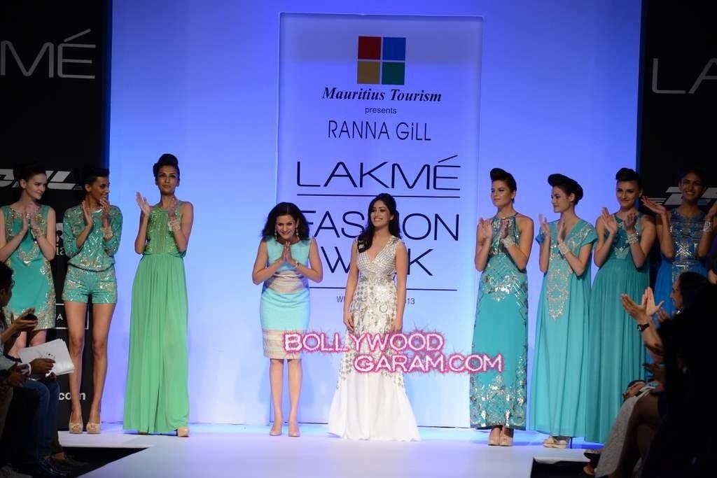 Rana Gill Yami Gautam LFW 2013-1