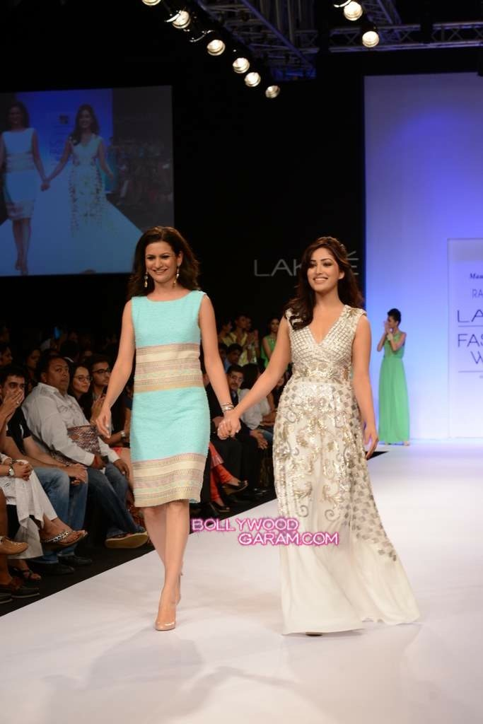 Rana Gill Yami Gautam LFW 2013-2