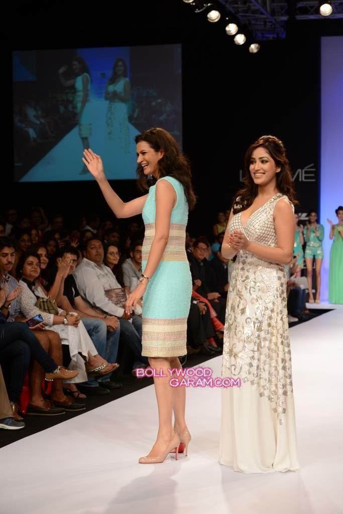 Rana Gill Yami Gautam LFW 2013