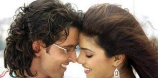 Hrithik Roshan and Priyanka Chopra have a steamy kissing scene in Krrish 3