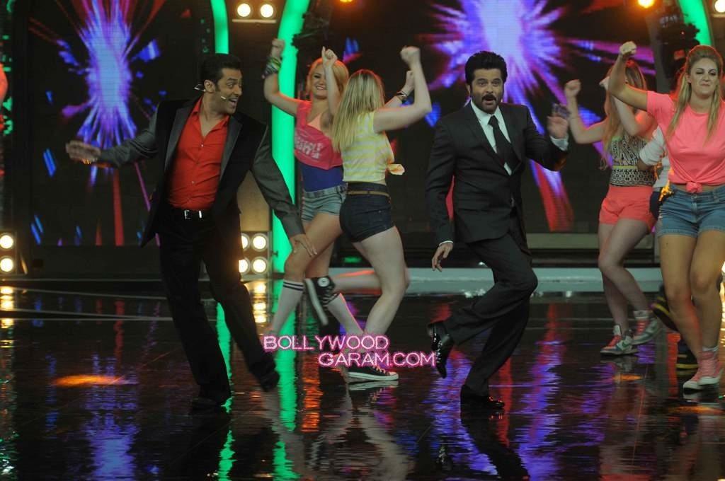 Anil Kapoor and Salman Khan on Bigg Boss 7-1