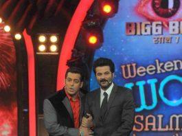 Anil Kapoor joins Salman Khan on Bigg Boss 7 stage