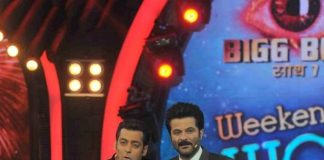 Anil Kapoor joins Salman Khan on Bigg Boss 7 stage